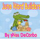 June Word Builders Freebie Pack!