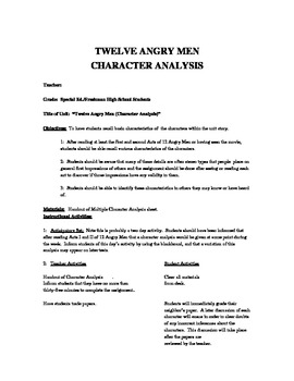 ... twelve angry men. Looking at a sample essay from. Essays, a biography