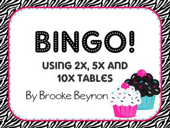 and 10 Times Table BINGO!