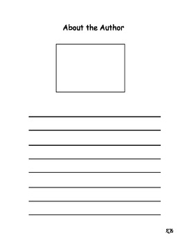 Five Frame Math Template http://www.teacherspayteachers.com/Product/About-the-Author-Template