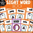 BOO! A Primer and Pre-Primer Sight Word Game