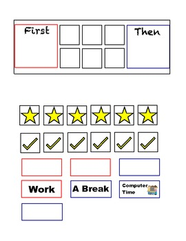 Star Behavior Chart http://www.teacherspayteachers.com/Product/Sentence-construction