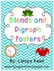Blends and Digraphs Posters Pack Chevron
