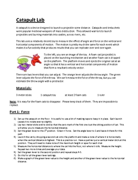 projectile motion lab report essay