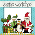 Clip Art: Santa&amp;#039;s Workshop