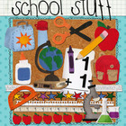 Digital Felt Art: School Stuff