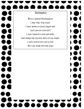 Halloween Craft Ideas  Grade on End Of Year Poem Kindergarten Craftivity