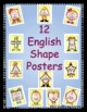 English Shape Posters