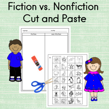 Fiction versus Nonfiction Worksheets http://www.teacherspayteachers.com/Product/The-Earth-and-Rocks