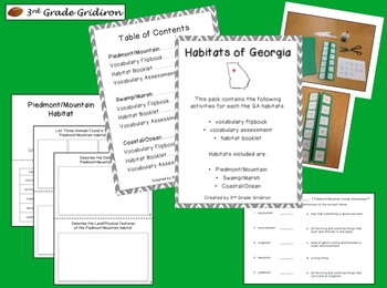 Georgia Habitats http://www.teacherspayteachers.com/Product/Division-is-Dino-mite