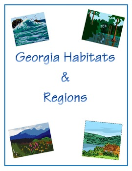 Georgia Habitats http://www.teacherspayteachers.com/Product/Thanksgiving-Recycling-Thinking-Map-Flow-Map