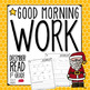 Good Morning Work - Reading - December