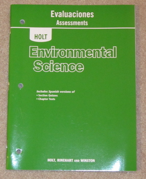 Holt Environmental Science Evaluaciones (Assessments)