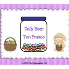 Jelly Bean Ten Frames