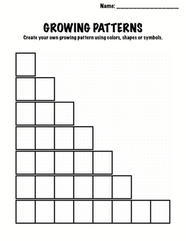 Copy Of Growing Patterns - Lessons - Tes Teach