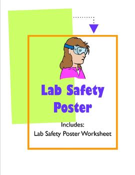 Safety Lab Poster http://www.teacherspayteachers.com/Product/Classroom-Rules-The-7-Bes-Colorful-Posters