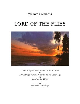 lord of the flies 3 essay