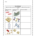 pan balance worksheets
