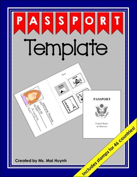 pretend passport template pictures to pin on pinterest pinsdaddy