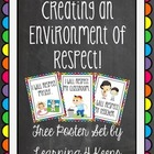 Respect Classroom Posters