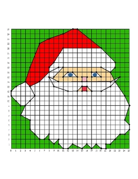 Holiday Coordinate Grid Worksheets | New Calendar Template Site