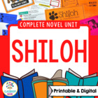 Shiloh Novel Unit (Aligned with Common Core Standards)
