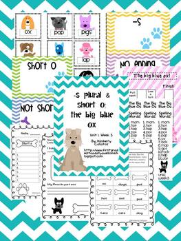 Short O Word Cards http://www.teacherspayteachers.com/Product/March-Money-Madness