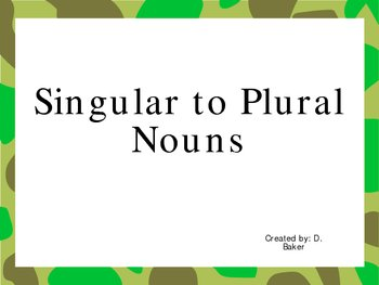 coursework plural or singular Singular to plural moose = meese of course, they're all wrong singular or plural noun after plural possessive plural/singular adjectives.