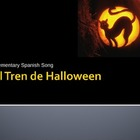 Spanish Halloween Song PowerPoint