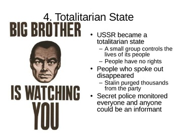 Stalin Totalitarianism