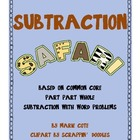 Subtraction Safari! Word Problem mini-books