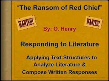ransom of red cheif personification