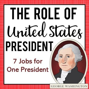 The Role of the President: A mini-unit {Anchor Charts & Writing ...