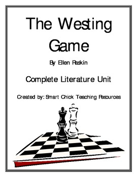the westing game book report answers