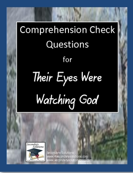 Their Eyes Were Watching God | Jane Schaffer Writing Program