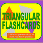Triangular Multiplication Flash Card Slide Shows