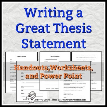 How to Essay Thesis Statement Examples