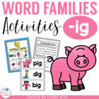ig word family mini pack
