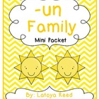 UN word family mini pack